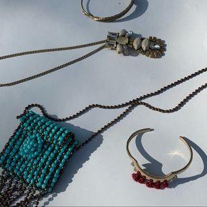 Jewelry bundle jcrew, top shop, BR , Alex&ani